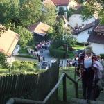 Stiegenwallfahrt nach Wollaberg v. G.B, Bild 2059