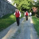 Stiegenwallfahrt nach Wollaberg v. G.B, Bild 2049