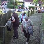 Stiegenwallfahrt nach Wollaberg v. G.B, Bild 2061