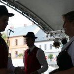 Auftritt Erwachsenen-Volkstanzgruppe in Bergreichenstein/CZ