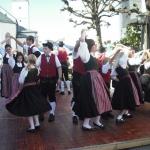d`Volkstanzgruppe beim Perlesreuter Drescherfest, Bild 4149