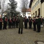 Neujahrsgrüße am Hofmarkplatz