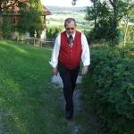 Stiegenwallfahrt nach Wollaberg v. G.B, Bild 2042