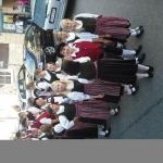 d`Volkstanzgruppe beim Perlesreuter Drescherfest, Bild 4133