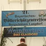 Bayerische Böllerschützentreffen in Langdorf v. G.B., Bild 1928