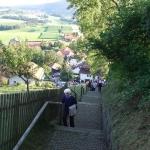 Stiegenwallfahrt nach Wollaberg v. G.B, Bild 2056