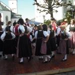 d`Volkstanzgruppe beim Perlesreuter Drescherfest, Bild 4143