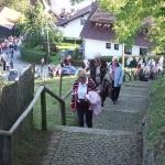 Stiegenwallfahrt nach Wollaberg v. G.B, Bild 2058